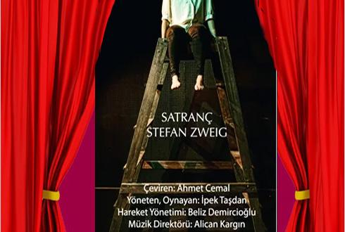Tek bir Kadın oyuncunun oynadığı tiyatro oyunu: Satranç (Stefan Zweig)