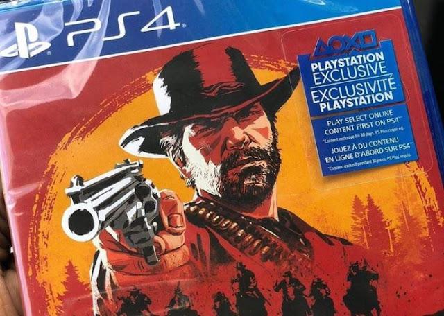 شاهد لأول مرة نسخة الشريط من لعبة Red Dead Redemption 2 وتأكيد تواجد 2 أشرطة ، إليكم من هنا ..