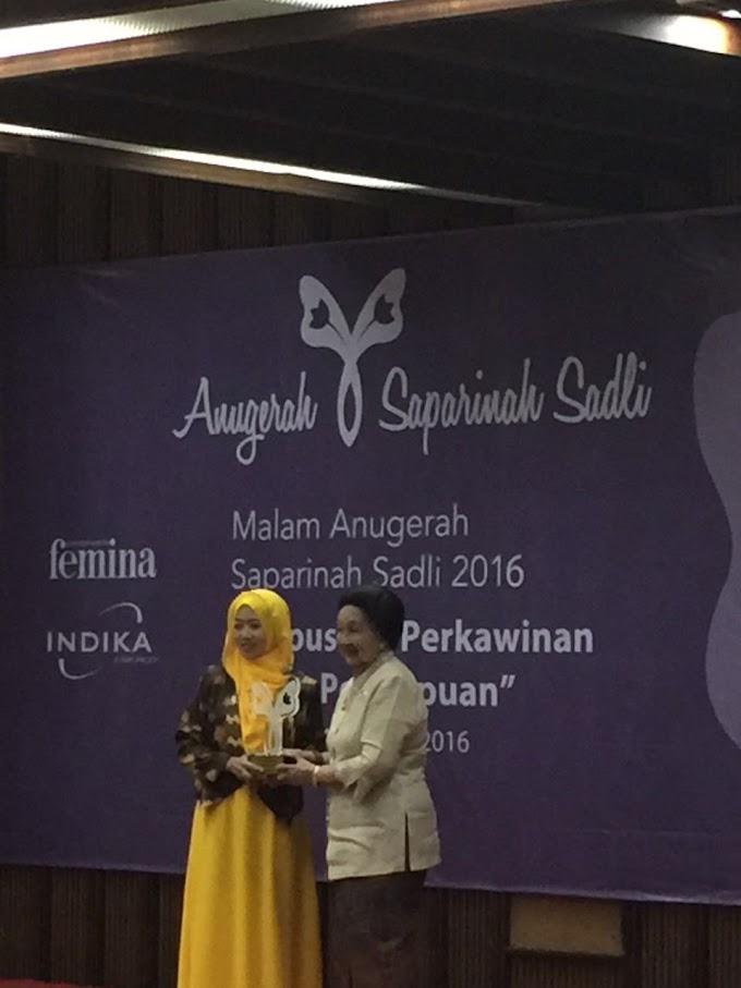 Anugerah Saparinah Sadli 2016