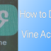 How to Delete Vine Account On iPhone Permanently