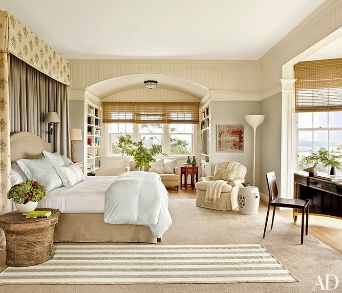 Hamptons Inspired Luxury Home Master Bedroom Robeson: LUCY WILLIAMS INTERIOR DESIGN BLOG