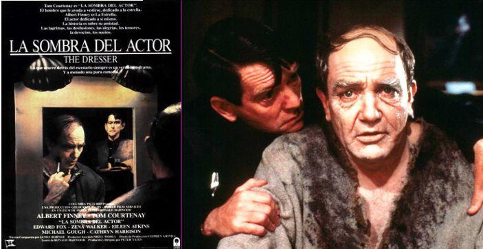 La sombra del actor, película