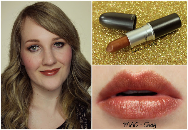 MAC Shag lipstick swatch