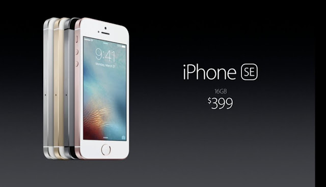 Apple brought a new iPhone as iPhone SE with aluminium design which is the powerful 4 inch phone ever