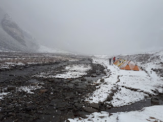 Rupin Pass Lower Base Camp