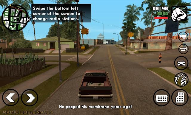 لعبة GTA San andreas لجميع الهواتف