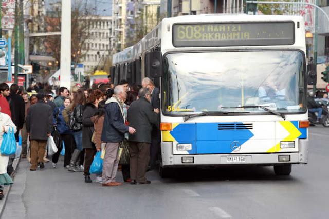 Στάση εργασίας στα λεωφορεία, ακινητοποιημένα τα τρόλει την Πρωτομαγιά