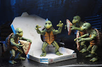 "Fotos oficiales de las Baby Turtles de ""Teenage Mutant Ninja Turtles"" - NECA"
