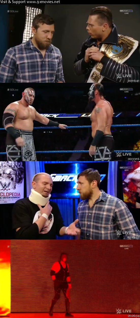 WWE Smackdown Live 22 Nov 2016 HDTV 480p
