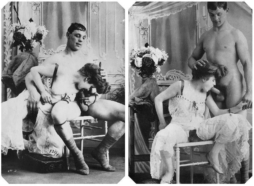 earliest example of gay porn