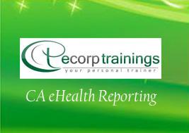 CA eHealth Reporting