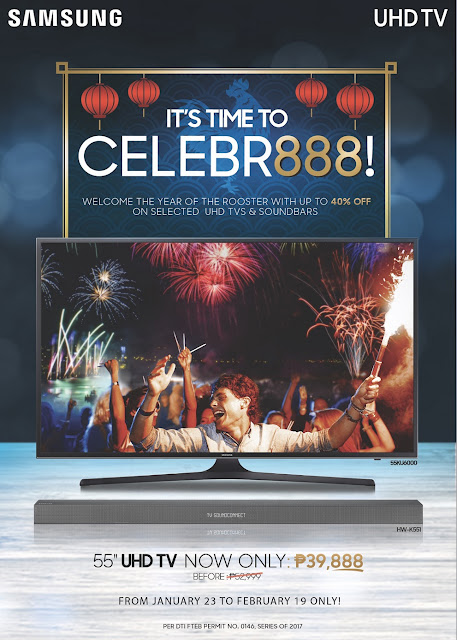 "Samsung's ""It's Time to Celebr888"" promo"