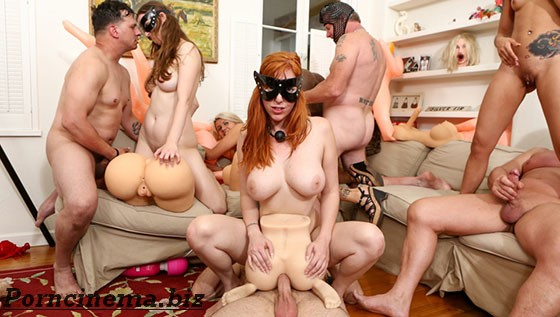 [DevilsFilm.com] Lauren Phillips, Kimberly Chi, Layla Price, Jay Taylor (Storage Whore Orgy)