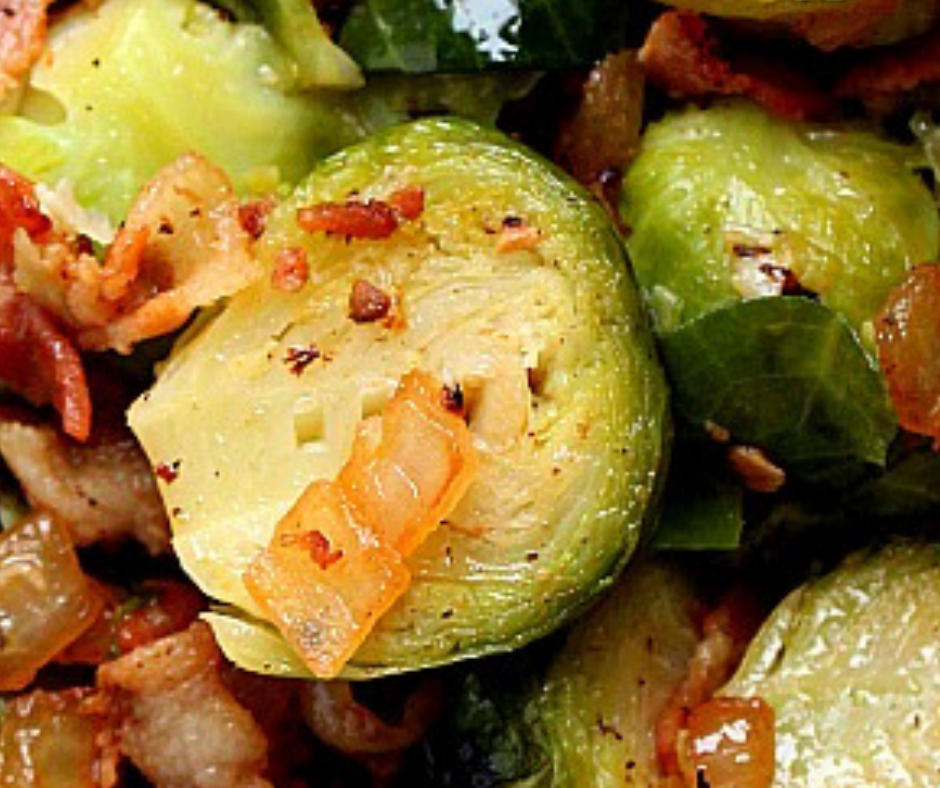 Instant Pot Bacon Brussels Sprouts recipe - food-drink-recipes.com