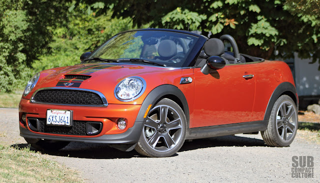 2013 MINI Cooper S Roadster top down