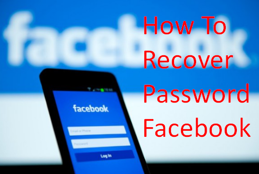 How To Recover Password Facebook