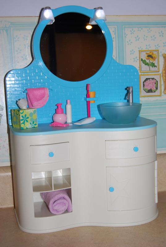 American Girl Spotlight: American Girl Bathroom Vanity