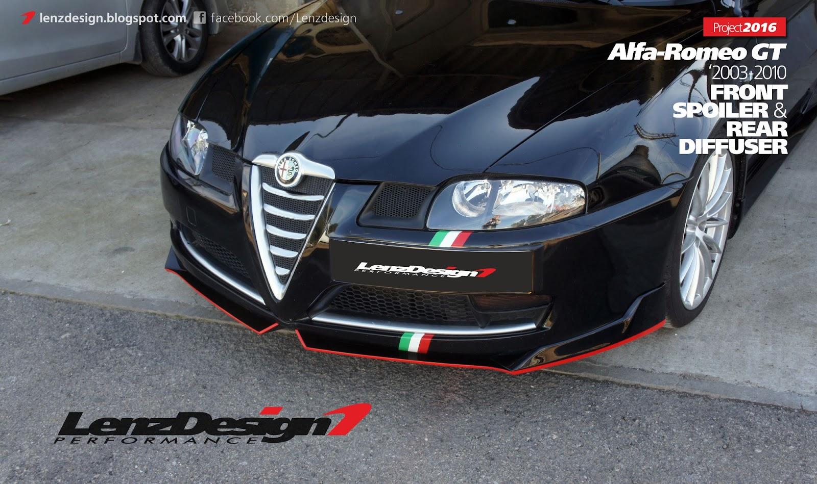 Alfa Romeo GT Body Kit Lenzdesign Performance