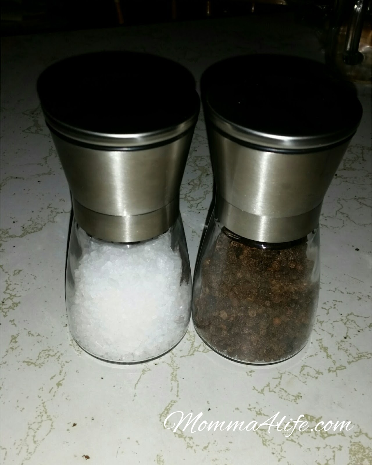 Unique Salt And Pepper Grinders Momma4life Salt And Pepper Grinder Set Review
