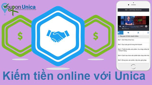 Chia sẻ khóa học kiếm tiền online với unica