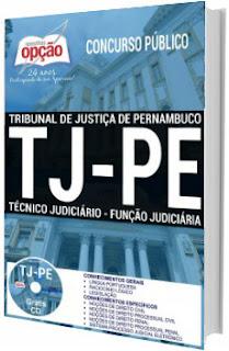 Apostila TJPE 2017 Técnico Judiciário - Função Judiciária