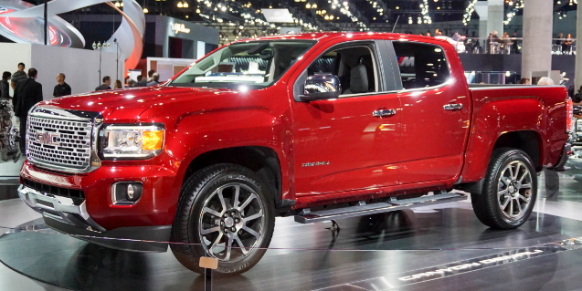2017 GMC Canyon Denali Design