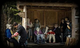 Куклы в деревни в Японии