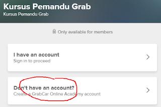 cara daftargrabcar online