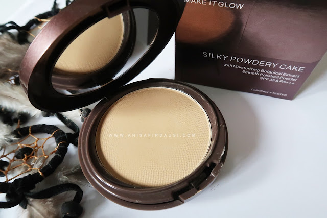 Pixy Make It Glow Silky Powdery Cake Medium Beige (301)