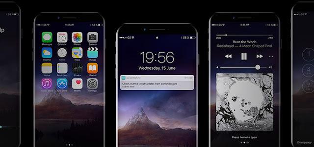 iPhone 8 Mockup PSD 2017