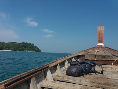 Eiland Hoppen in de Andamanzee