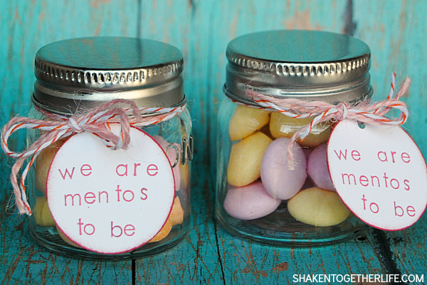 We are Mentos to be Valentine Gift from Shaken Together