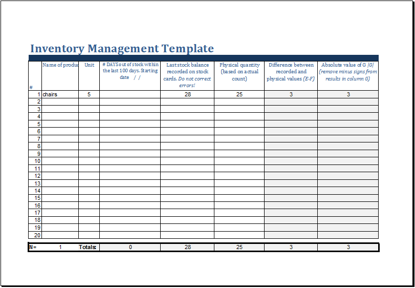Doc690452 Inventory Card Template Doc690452 Inventory Card – Inventory Card Template