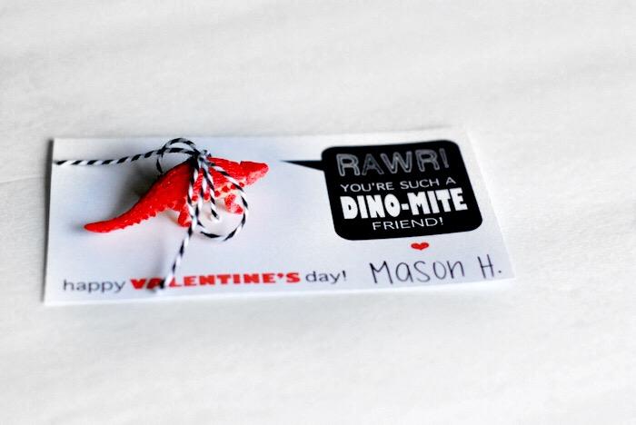 DIY DinoMite Valentines