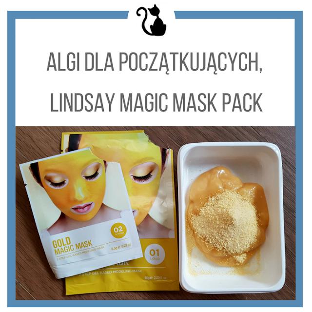 Algi dla początkujących, czyli maska Lindsay Magic