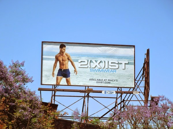 Andre Ziehe 2Xist Swimwear Summer 2014 billboard