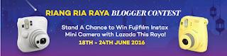 RIANG RIA RAYA BLOGGER CONTEST WITH LAZADA MALAYSIA