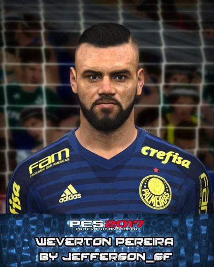 Weverton Pereira For PES 2017