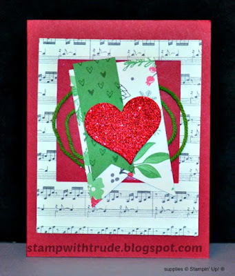 Tuesday Tutorial 63, Stampin' Up!, Stamp with Trude, Suite Seasons