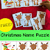 Christmas Name Puzzle