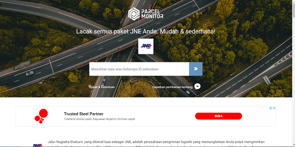 Situs Parcelmointor.com