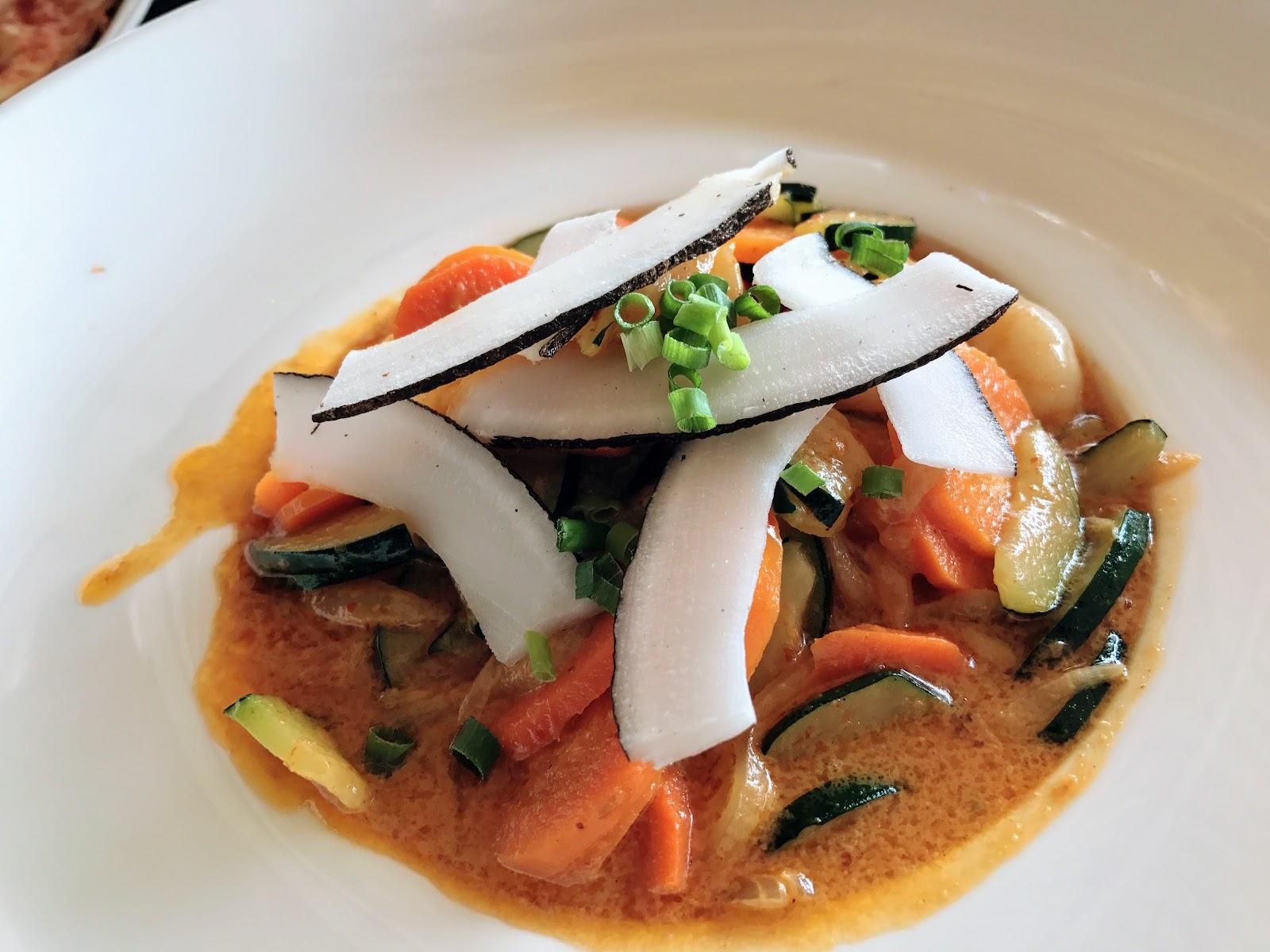 環遊世界|大溪地|Te Ava Restaurant @Bora Bora艾美酒店 泰式咖哩