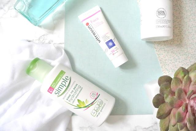 Morning Skincare Routine Prep Simple UltraSun NSPA Vichy