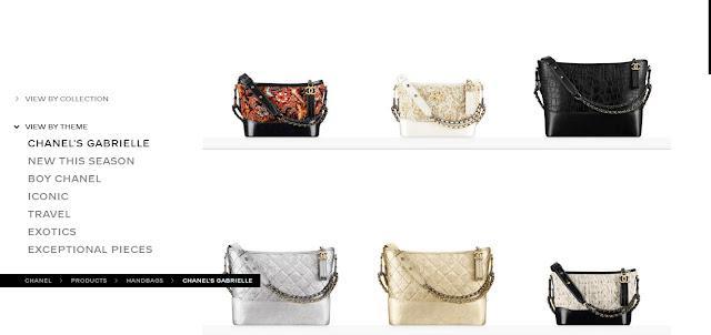 túi xách Chanel Gabrielle chính hãng