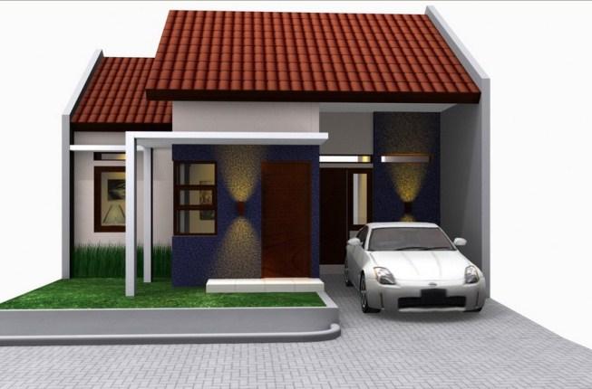 Rumah Minimalis 1 Lantai dengan Garasi