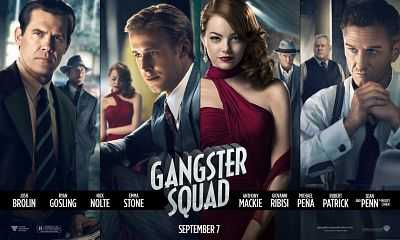 Gangster Squad 2013 Dual Audio 300mb Hindi - Englidh BluRay
