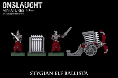 Stygian Elf Ballista by Onslaught Miniatures