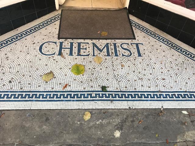 Chemist, Doorway Mosaic, Rochester, Kent