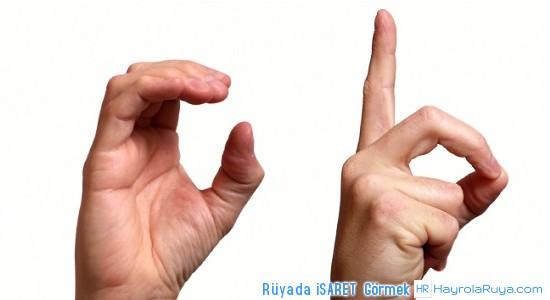 Rüyada işaretin Görülmesi rüyada işaret parmağı rüyada işaret parmağından kan gelmesi rüyada işaret parmağından irin çıkması rüyada işaretli kaya görmek rüyada işaret parmağının kanadığını görmek