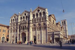 The Cattedrale di San Giorgio Martire in Ferrara